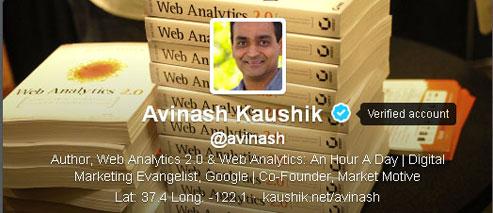 Avinash Verified Account