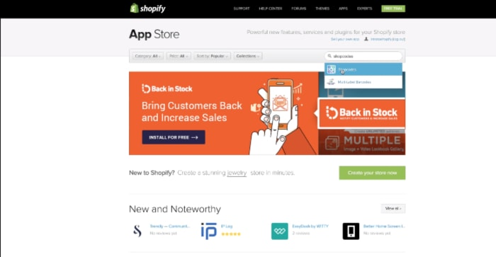 shopify app store-min