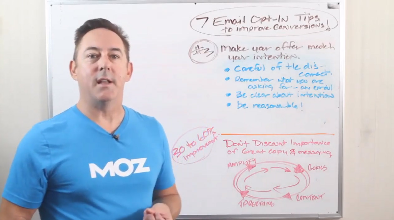 Tip #3 – 7 EMAIL OPT IN TIPS TO IMPROVE CONVERSIONS