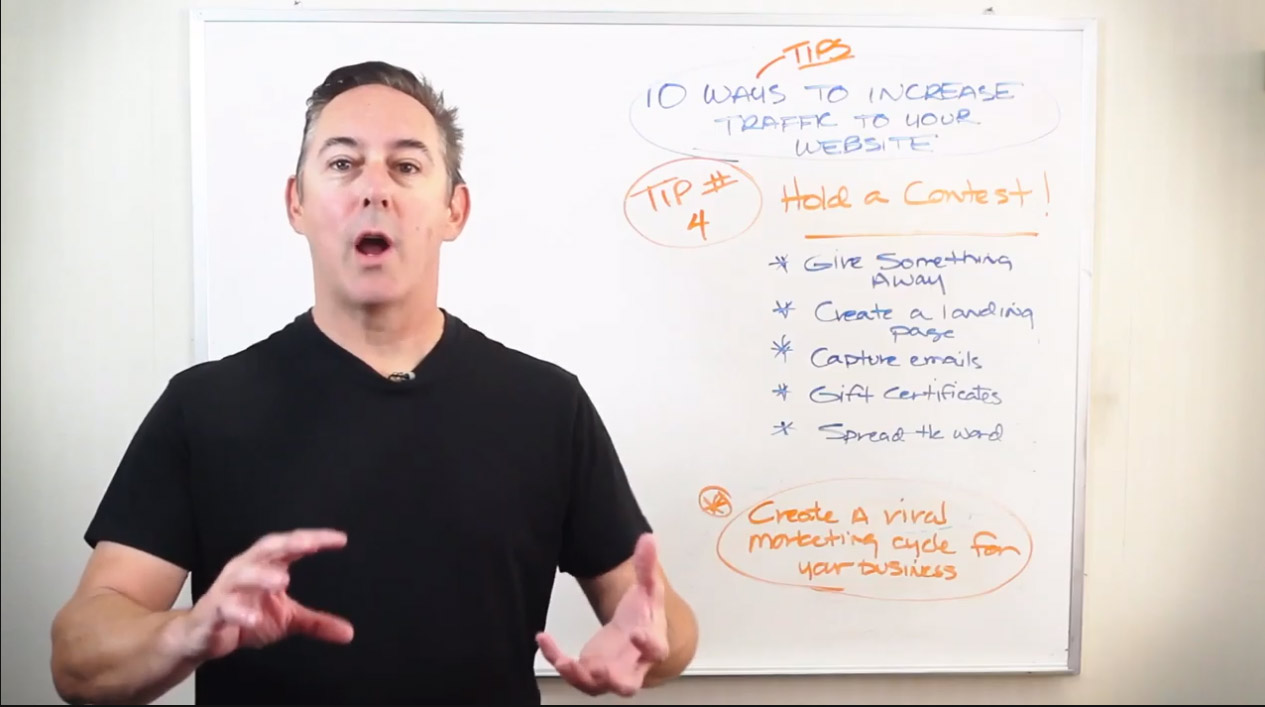 How to drive traffic by holding a Contest – Tip #4