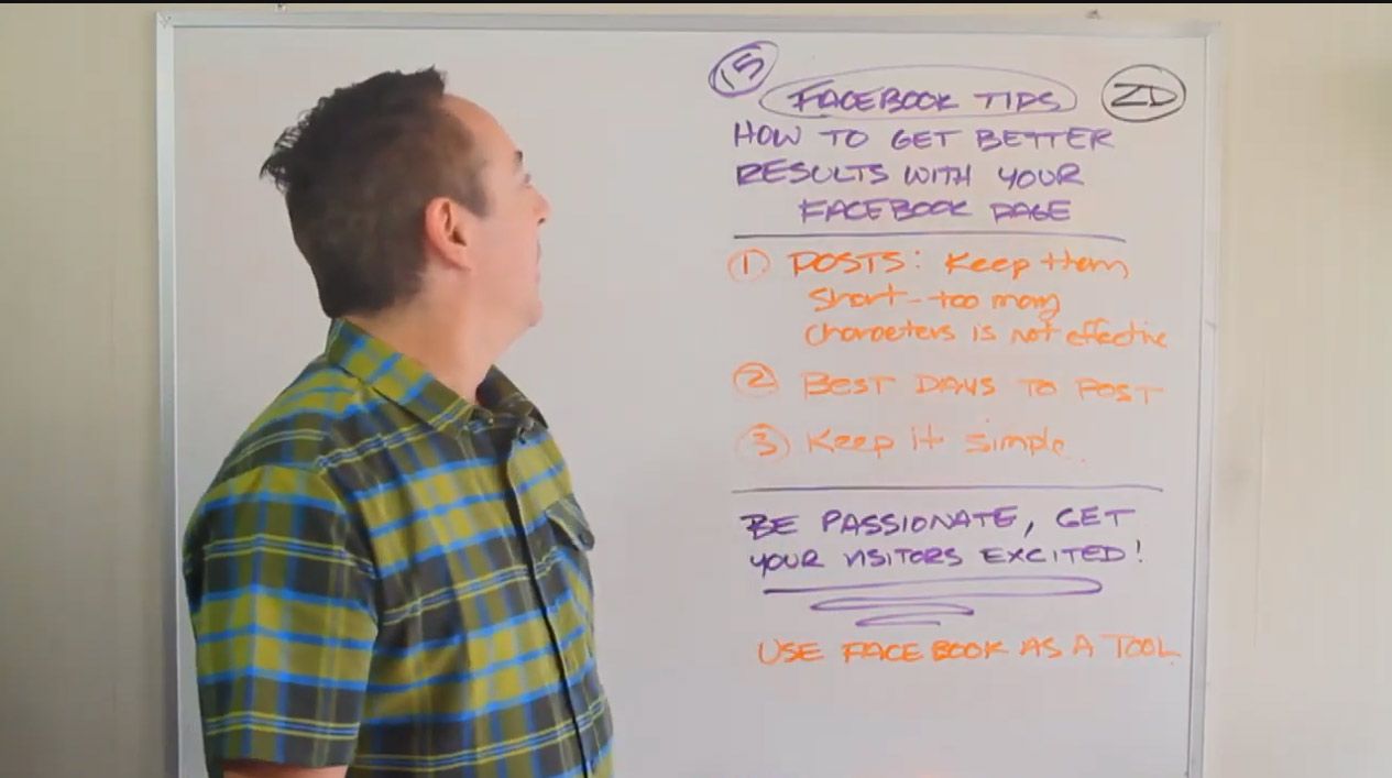 15 Facebook tips for better results and conversions – Tips 1-3