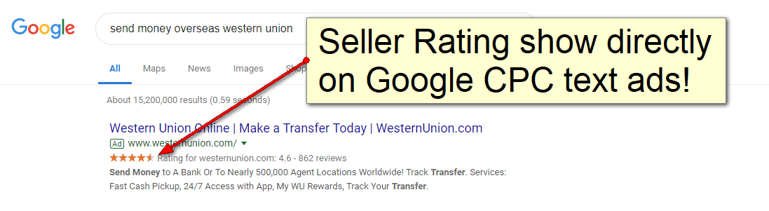 Google Seller Ratings for Ecommerce Sites